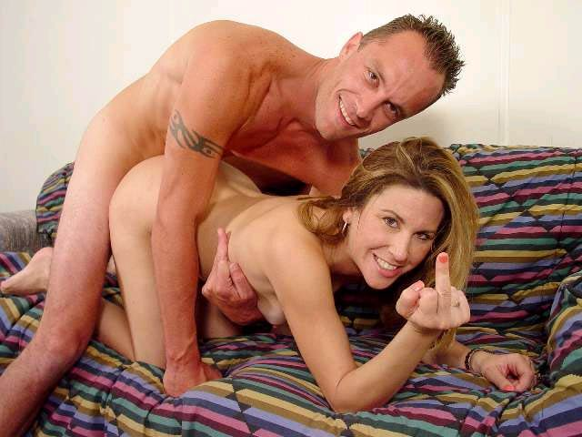 image Horny divorced milf fucks young boy